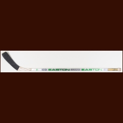 Brett Hull St. Louis Blues Silver Easton Game Used Stick – The Chris Chelios Stick Collection – Chris Chelios Letter