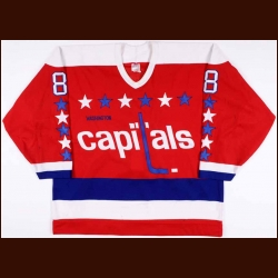 1987-88 Larry Murphy Washington Capitals Game Worn Jersey