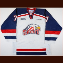 2003-04 Mike Pain Saginaw Spirit Game Worn Jersey – Team Letter