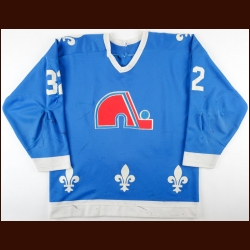 1983-84 Dale Hunter Quebec Nordiques Game Worn Jersey - Good Friday Massacre - Photo Match - Video Match