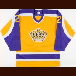 1982-83 Warren Holmes Los Angeles Kings Game Worn Jersey
