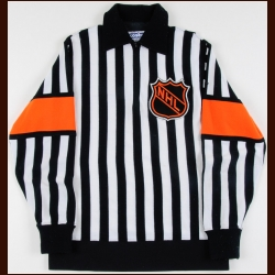 1977-78 Wally Harris Referee Worn Jersey