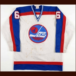 1983-84 Jim Kyte Winnipeg Jets Game Worn Jersey - Rookie