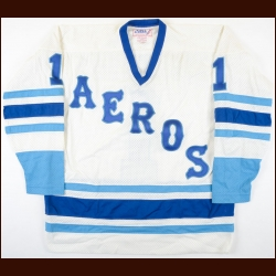 1977-78 Lynn Zimmerman WHA Houston Aeros Game Issued Jersey