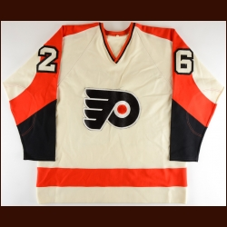 Mid 1970's Orest Kindrachuk Philadelphia Flyers Game Issued Jersey
