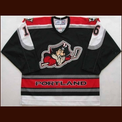 2005-06 Joel Stepp Portland Pirates Game Worn Jersey