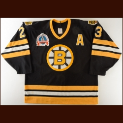 "1989-90 Craig Janney Boston Bruins Stanley Cup Finals Game Worn Jersey – ""1990 Stanley Cup Finals"" – Photo Match"