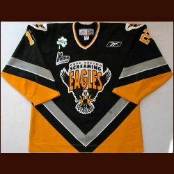 "Mid 2000's J.C. Sawyer Cape Breton Screaming Eagles Game Worn Jersey - ""PGL"""