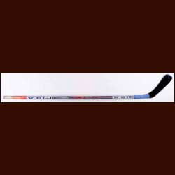 Vincent Lecavalier Tampa Bay Lightning Orange Blue CCM Game Used Stick 4f382c5ac