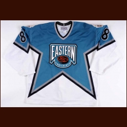 "1994 Mark Recchi NHL All Star Game Worn Jersey – ""1994 NHL All Star"""