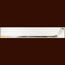 Chris Kunitz Pittsburgh Penguins B&W Easton Game Used Stick – Used in 2014-15 - Autographed - NHL Alumni Letter