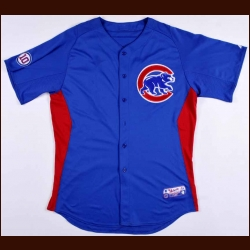 2008 Starlin Castro Chicago Cubs Batting Practice Jersey – MLB Letter