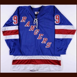 Wayne Gretzky New York Rangers Replica Jersey - 1998-99 Final Season