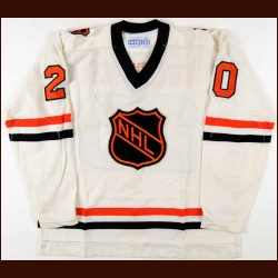 1978-79 Bryan Trottier Challenge Cup Game Worn Jersey - Hart Trophy - Art Ross Trophy - 1st Team NHL All Star - 1979 plus/minus Award – Photo Match