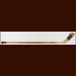 Ross Lonsberry Philadelphia Flyers Sher-Wood Game Used Stick