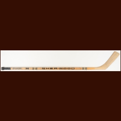 Dave Keon Hartford Whalers Sher-Wood Game Used Stick