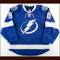 2015-16 Vladislav Namestnikov Tampa Bay Lightning Game Worn Jersey