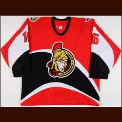 2001-02 Steve Martins Ottawa Senators Game Worn Jersey