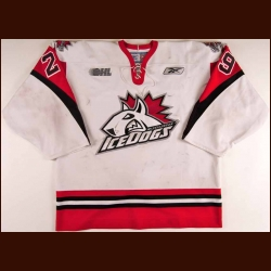 2005-06 Kyle Knechtel Mississauga Ice Dogs Game Worn Jersey - Photo Match