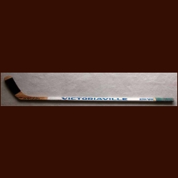 Tie Domi Victoriaville Game Used Stick - Autographed
