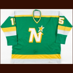 1981-83 Bobby Smith Minnesota North Stars Game Worn Jersey