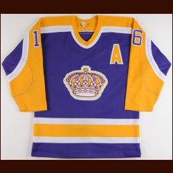 1984-85 Marcel Dionne Los Angeles Kings Game Worn Jersey - Photo Matched
