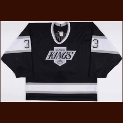 1993-94 Marty McSorley Los Angeles Kings Game Worn Jersey