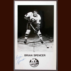 Brian Spencer Autographed Photo - Deceased