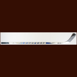 Bryan McCabe Toronto Maple Leafs Silver/Blue Easton Game Used Stick