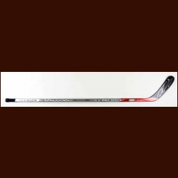 Peter Forsberg Grey Easton Game Used Stick - Autographed