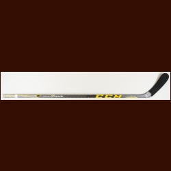 Conor Sheary Pittsburgh Penguins Yellow & Black CCM Game Used Stick – Used in 2015-16 - Stanley Cup Season - Autographed – NHL Alumni Letter