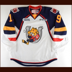 2014-15 Rasmus Andersson Barrie Colts Game Worn Jersey – Rookie - Photo Match
