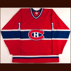 1983 Rick Wamsley Montreal Canadiens Game Worn Jersey