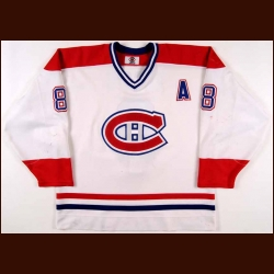 1998-99 Mark Recchi Montreal Canadiens Game Worn Jersey