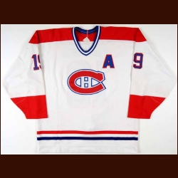 Mid/Late 1980's Larry Robinson Montreal Canadiens Game Worn Jersey