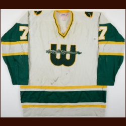1978 Gordie Roberts WHA New England Whalers Game Worn Jersey
