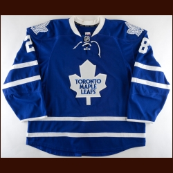 2013-14 Colton Orr Toronto Maple Leafs Game Worn Jersey – Photo Match