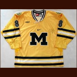 Mid 2000's Jason Dest University of Michigan Game Worn Jersey