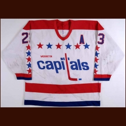 1988-89 Bob Gould Washington Capitals Game Worn Jersey