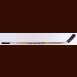 Keith Tkachuk Black & Yellow TPS Game Used Stick – Autographed