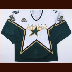 "2006-07 Krys Barch Dallas Stars Game Worn Jersey - ""Dallas 2007 All Star Game"" - Team Letter"