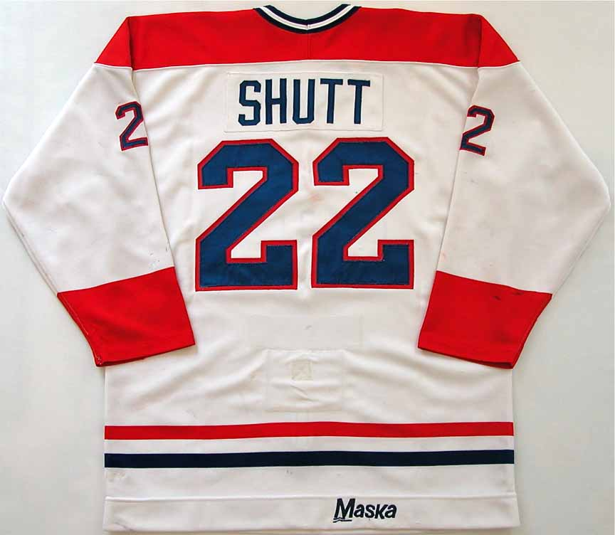 hot sale online 34123 ed96a 1983-84 Steve Shutt Montreal Canadiens Game Worn Jersey ...