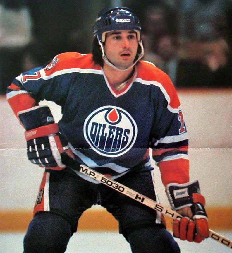 1981 82 Paul Coffey Edmonton Oilers Game Worn Jersey
