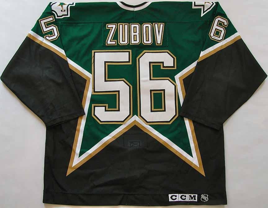 1999 00 Sergei Zubov Dallas Stars Stanley Cup Finals Game Worn 43bcf64a1