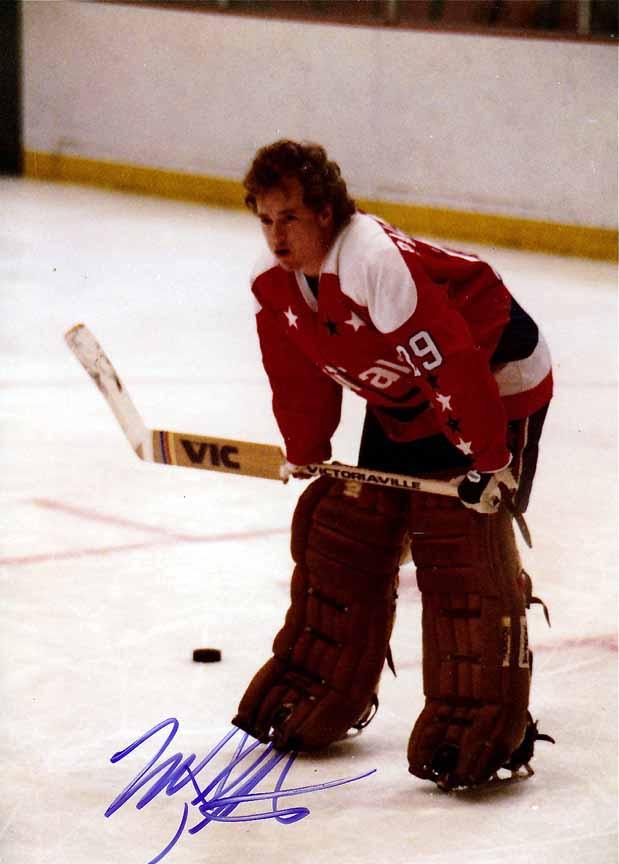 1981-82 Mike Palmateer Washington Capitals Game Worn Jersey - Photo ... fd56eeb7cd0