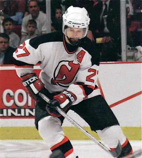 6d2f0af52 2002-03 Scott Niedermayer New Jersey Devils Game Worn Jersey ...