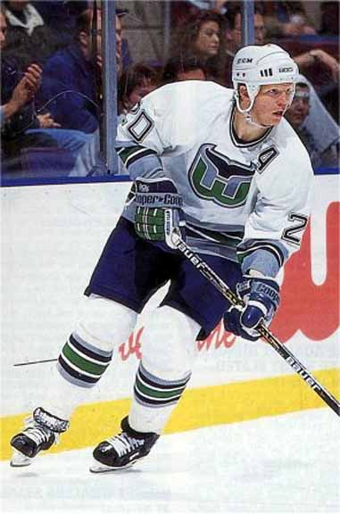 d8ac03a0a 1996-97 Glen Wesley Hartford Whalers Game Worn Jersey ...