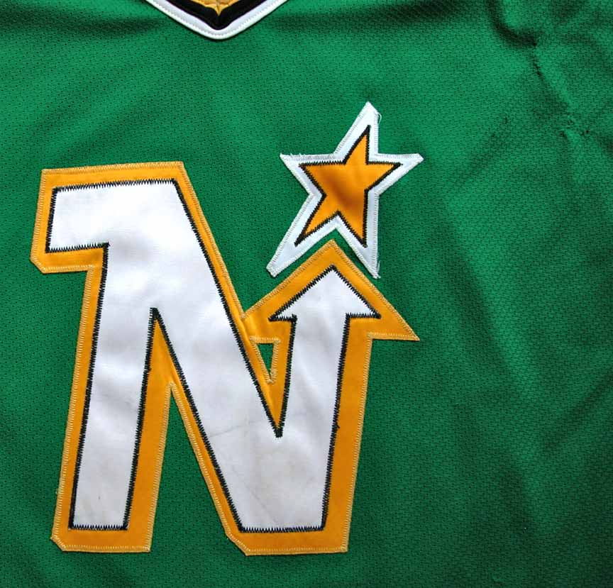 1988-89 Mike Modano Minnesota North Stars Game Worn Jersey