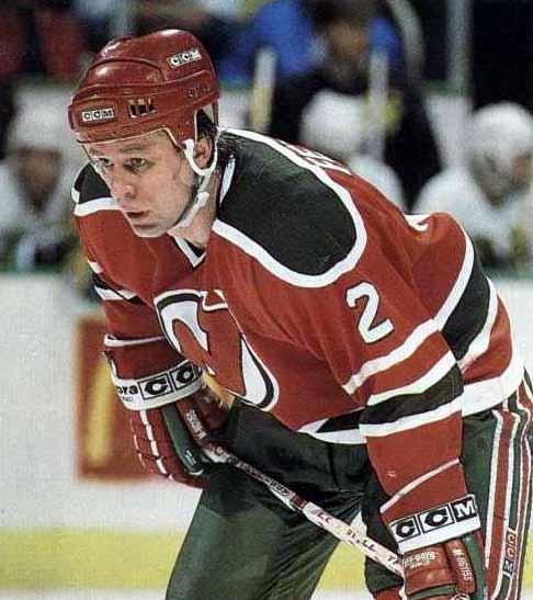 1989-90 Viacheslav Fetisov New Jersey Devils Game Worn Jersey ... c24439890f3