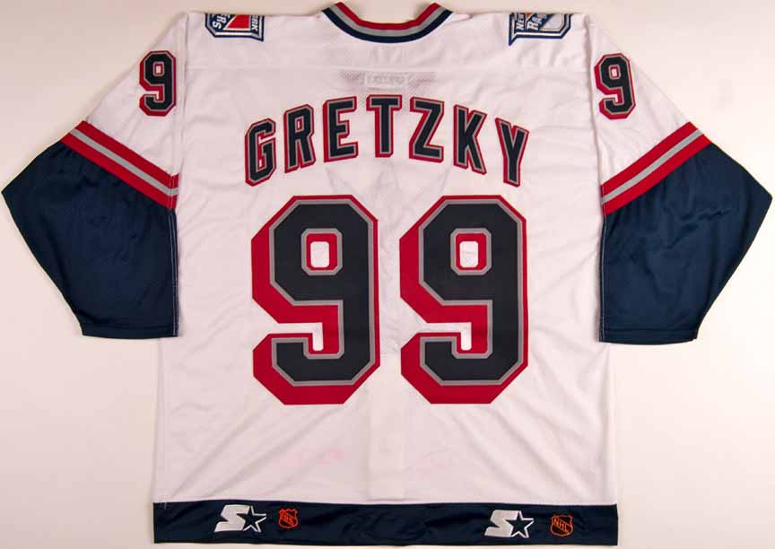 new arrival aaefe aa4f5 1998-99 Wayne Gretzky New York Rangers Team Issued Jersey ...